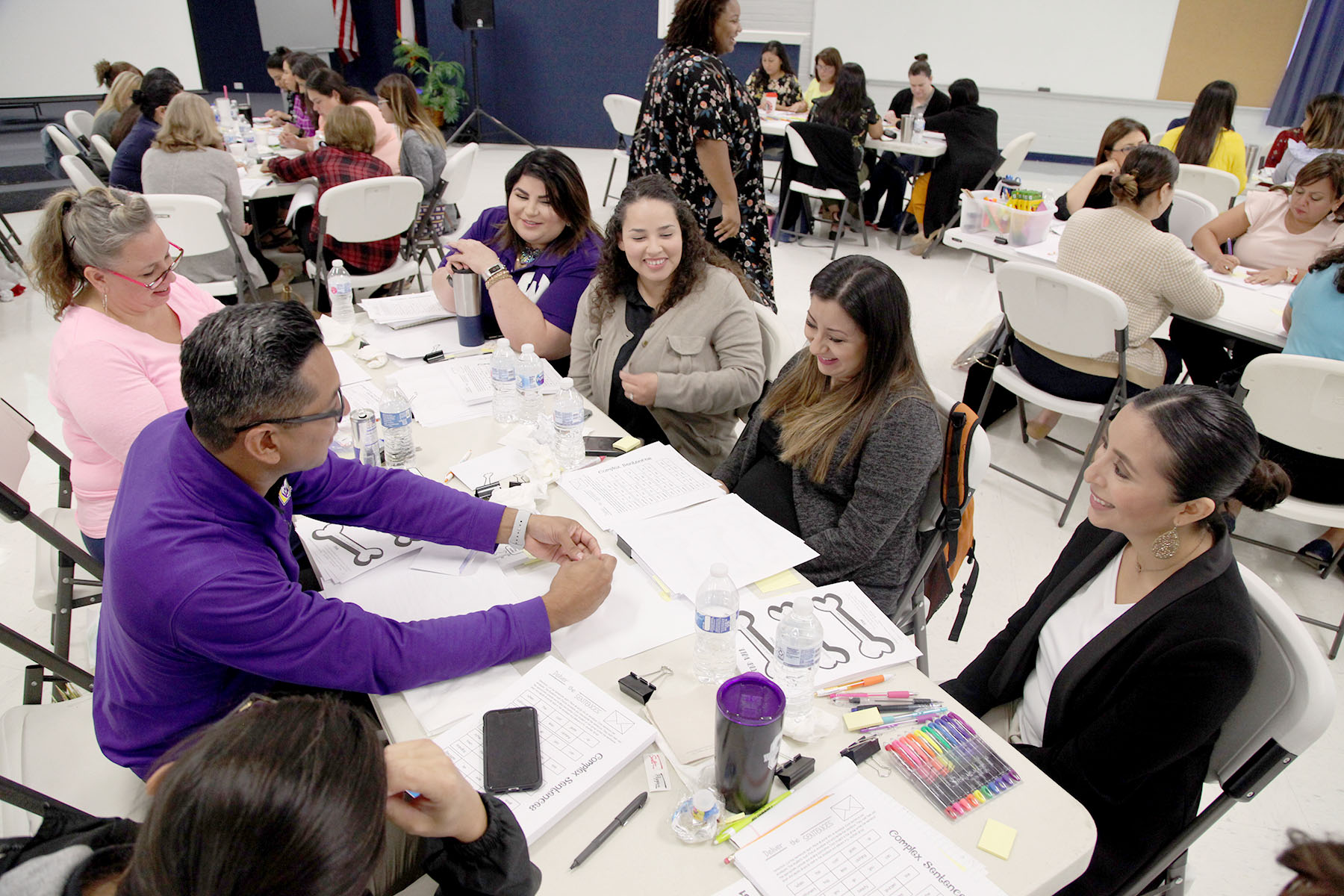 Elementary, middle school teachers attend Writing Academy