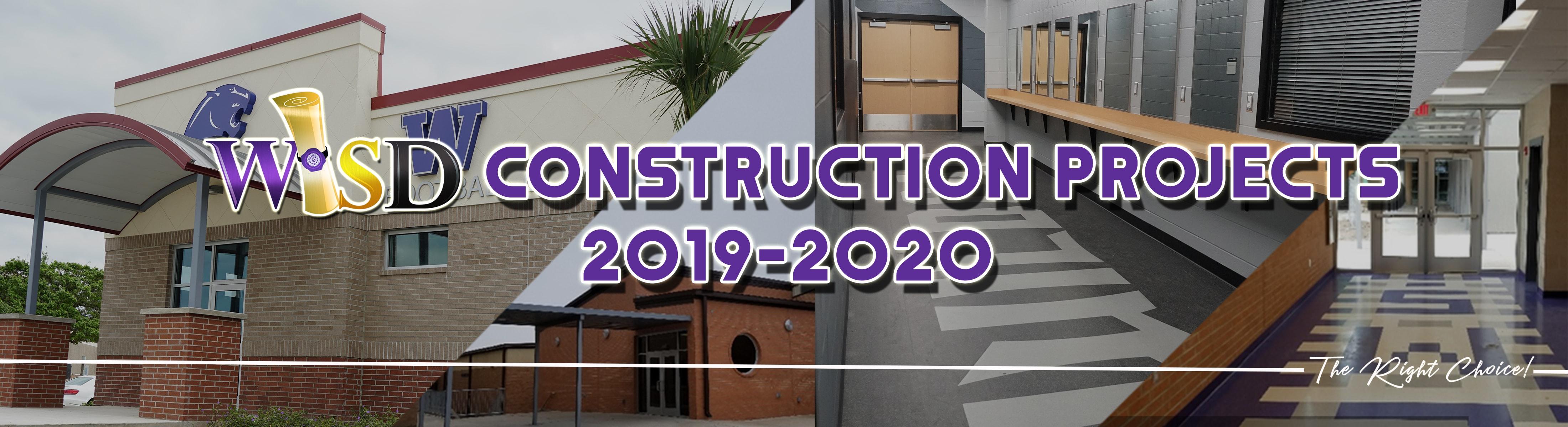 Weslaco ISD ConstructionProjects 2019 2020   Weslaco Independent